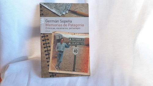 Imagen 1 de 5 de Memorias De Patagonia German Sopena Emece