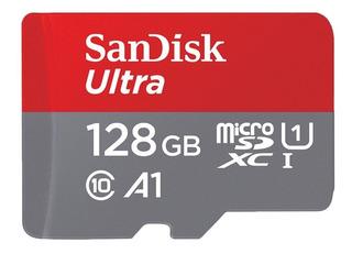 Sandisk Micro Sd Card 128gb Cartão De Memória Flash Tf Car
