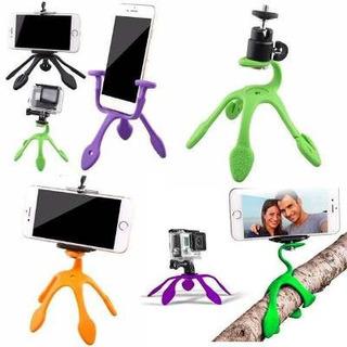 Gekko-triPod Suporte (gekkopod)para iPhone Smartphone Camera