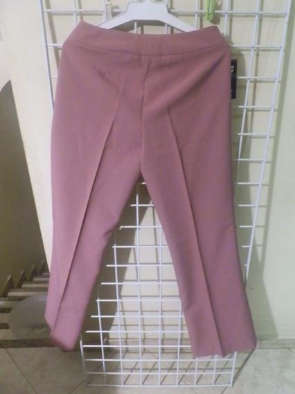 Pantalon De Damas Marca Pivot Talla 14 Color Rosado Recto