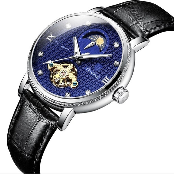 Relógio Masculino Original Semi Automátic Luxo Barato C.107