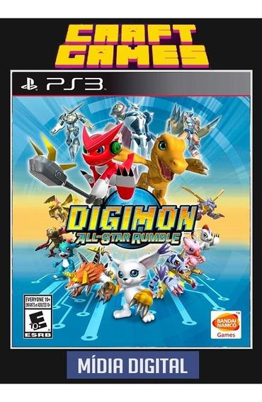 Digimon All Star Rumble Ps3 Psn Envio Imediato