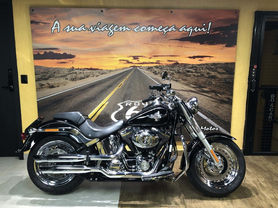 Harley Davidson Fat Boy 2013 Preta Único Dono
