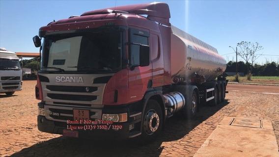 Scania P-360 Com Tanque Para 40.000 Litros 6 Compartimentos