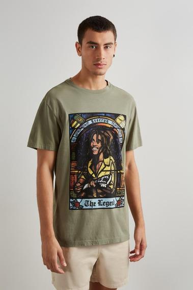 Camiseta Estampada Legend Vitral Reserva