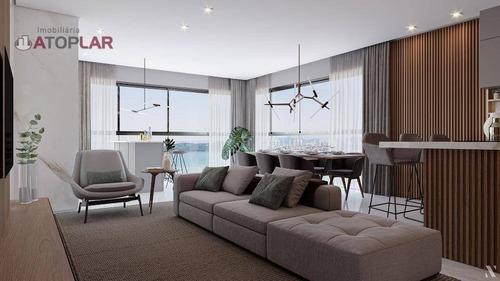 Apartamento À Venda, 145 M² Por R$ 1.408.510,11 - Centro - Balneário Piçarras/sc - Ap2071