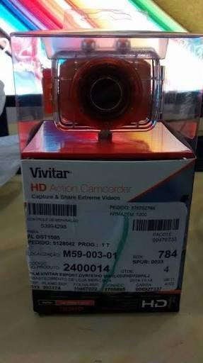 Vivitar: Câmera Filmadora Esportiva Vivitar Dvr787hd Vermelh