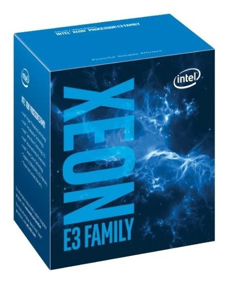 Processador Xeon E3 Lga 1151 Intel Quad Core E3-1240v6 3.70ghz 8mb 8gt/s Ddr4|ddr3l Bx80677e31240v6