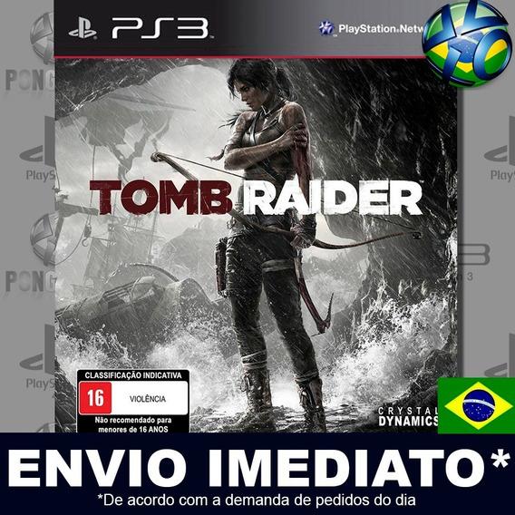 Tomb Raider Edition Ps3 Psn Legendado Português Br Promoção