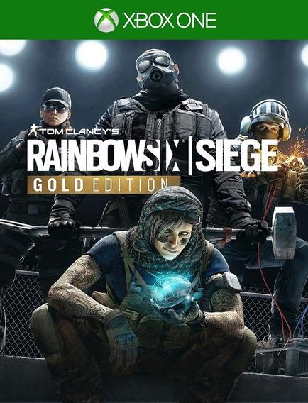 Tom Clancys Rainbow Six Siege Gold - Xbox One (25 Dígitos)