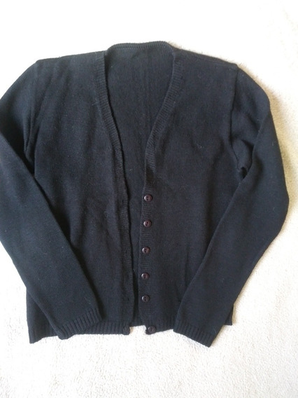 Saco Sweater Mujer Lana Fino T S