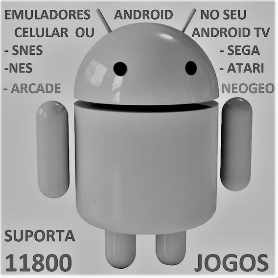 Emuladores Neogeo Atari Nes Snes P Android Tv P Email