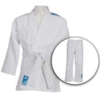 Kimono adidas Judô Infantil Com Faixa Branca J200e
