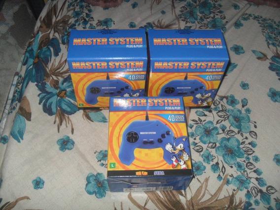 Video Game Master System Plug&play Tectoy 40 Jogos (lacrado)