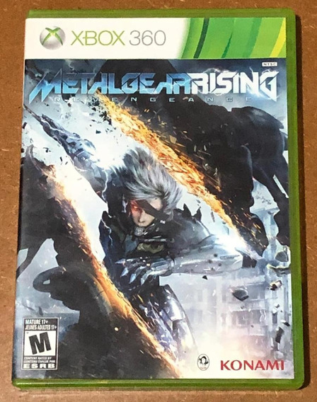 Jogo Midia Fisica Metal Gear Rising Revengeance Xbox 360
