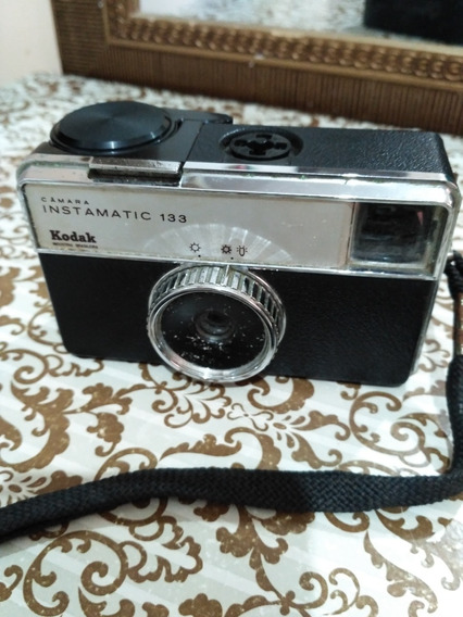 Máquina Fotográfica Kodak Instamatic 133 - Anos70 - Raridade