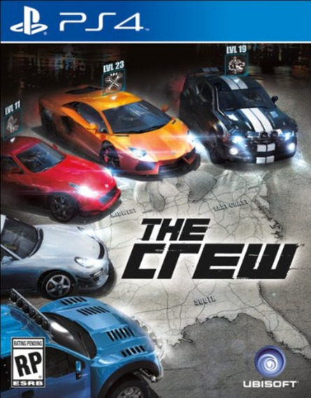 The Crew Ps4 Original**1 Midia Digital