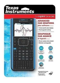 Rg. Calculadora Texas Instruments Ti-nspire Cx Ii Cas