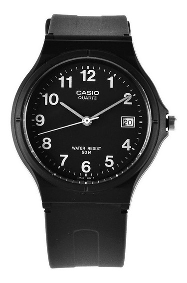 Relogio Casio Mw 59-cores Unisex Calend Wr50m Médio Clássico