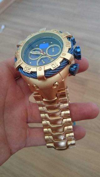 Relógio Masculino + Cartier 18k Oferta