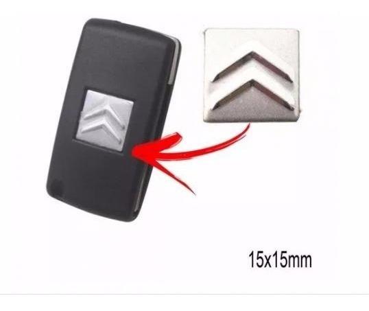 Emblema Adesivo Chave Canivete Citroen 15mm Frete R$ 8,00