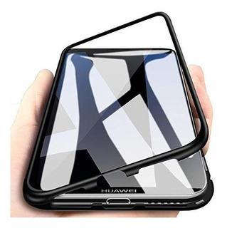 Bakeey Funda Protectora Vidrio Templado De Metal Huawei Y9