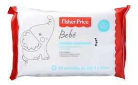 Fisher-price Bebê Com Perfume - Lenços De Limpeza (50 Unid)