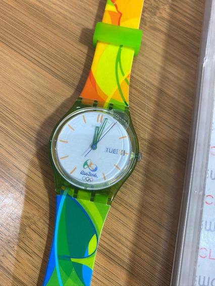 Relógio Swatch Jogos Olímpicos Rio 2016 Novo!!!