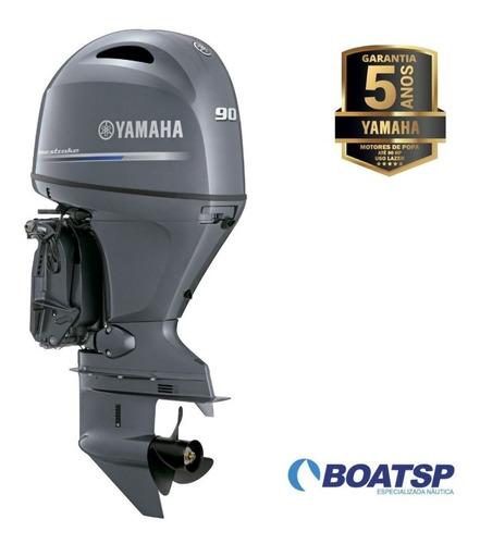 Motor De Popa Yamaha 90hp 4 Tempos