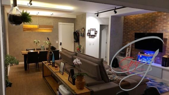 Apartamento De 90 M² Com 3 Dormitórios, Sendo 2 Suítes E 1 Vaga, Cond. Jardins Do Brasil. - Ap00058 - 34802074