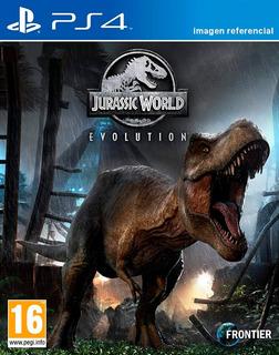 Jurassic World Evolution / Juego Físico / Ps4