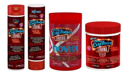 Novex Cachos De Cinema Kit X 4 - g a $20