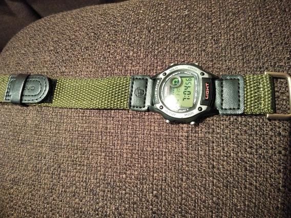 Reloj Casio W94 Lona Verde