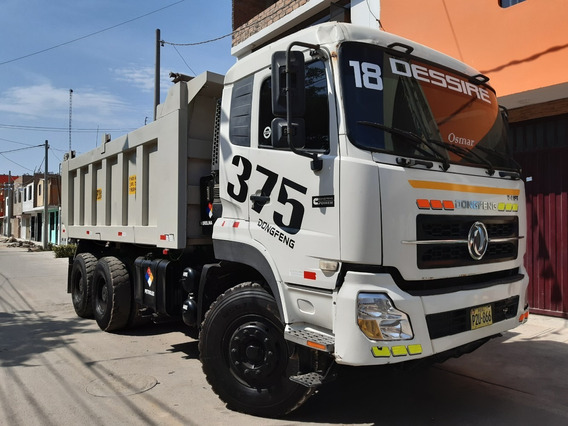 Volquete Dongfeng 375 T-lift 6x4 Con Muy Poco Uso