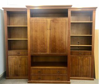 Modular Mueble Biblioteca Living Comedor Madera Cerejeida