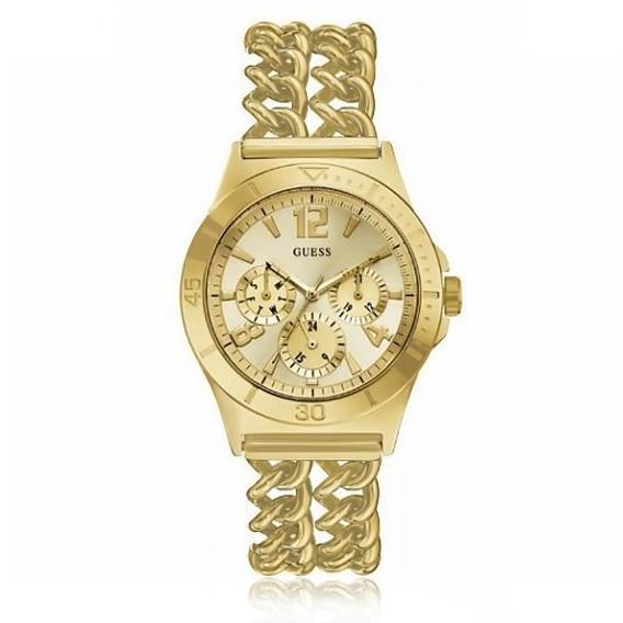 Relógio Feminino Guess 92348lpgsda4 Dourado