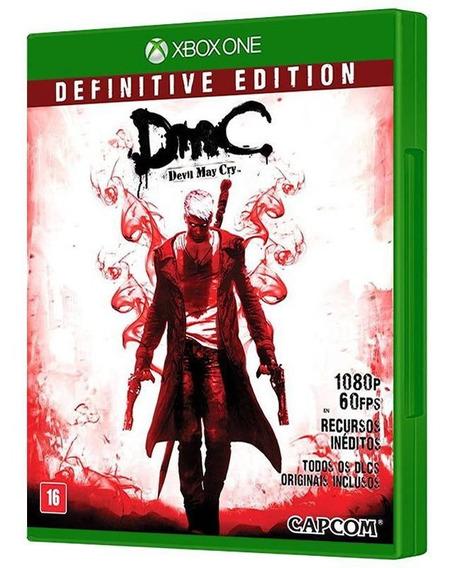 Dmc Devil May Cry Definitive Ed - Xbox One - Mídia Física
