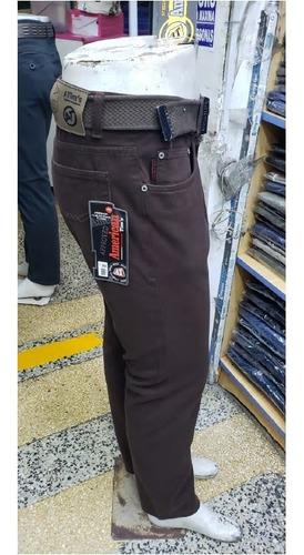 Pantalon Drill Semipitillo Para Hombre Colores Mercado Libre