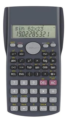 Imagen 1 de 2 de Calculadora Cientifca Multifuncional Keenly Kk-82ms-5 Tapa
