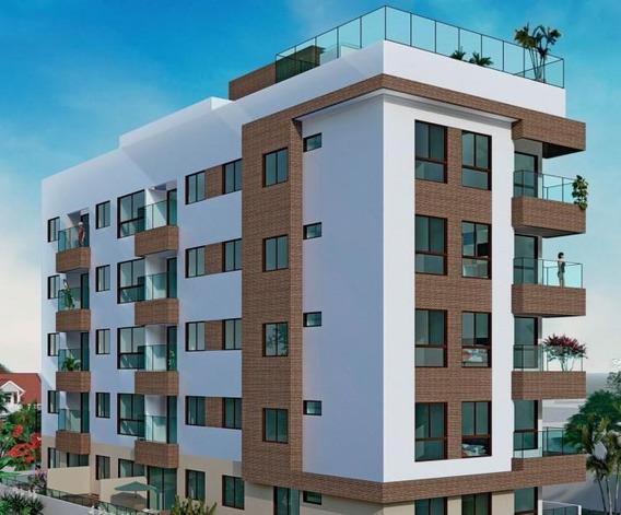 Apartamento Em Intermares, Cabedelo/pb De 36m² 1 Quartos À Venda Por R$ 258.128,00 - Ap211253