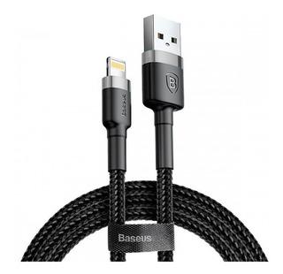 Cable iPhone Usb Lightning Carga Rapida 2.4a 5s 5c 6s 7 8 X