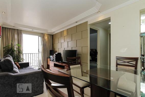 Apartamento No 15º Andar Mobiliado Com 2 Dormitórios E 2 Garagens - Id: 892962499 - 262499
