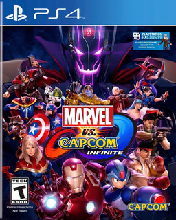 Marvel Vs. Capcom Infinite Ps4 Digital Gcp