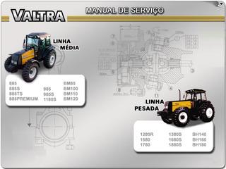 Manual Serviço Valtra Valmet Médio Pesado G1 - Eletrônico