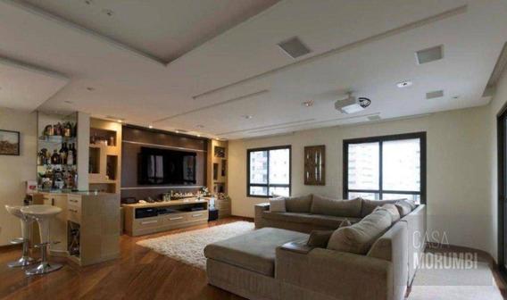 Apartamento Com 4 Dormitórios Para Alugar, 214 M² Por R$ 6.300/mês - Jardim Da Saúde - São Paulo/sp - Ap1264