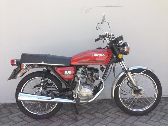 Honda Cg 125 Bolinha. Impecavel. Para Colecionador