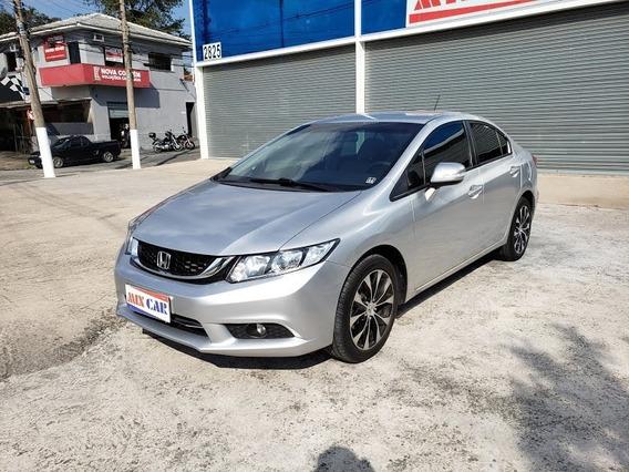 Honda Civic Lx-r 2.0 Flex 2015 Automático Novíssimo 2 Dono