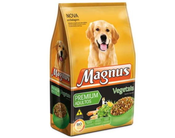 Ração Magnus Adulto Vegetais 15kg