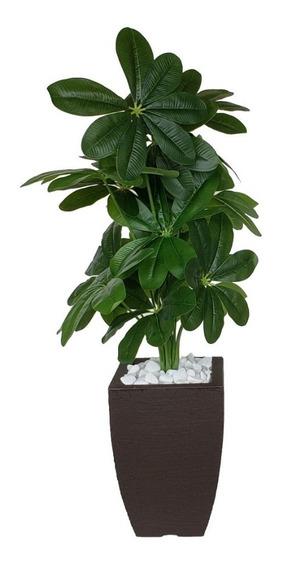 Folhagem Artificial Permanente + Vaso
