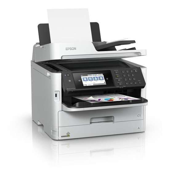 Multifuncional Colorida Epson Workforce Pro Wf-c5790 C/ Bulk